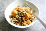 cumin roasted pumpkin with barley